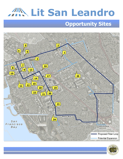 Opportunity Sites in the City of San Leandro, CA