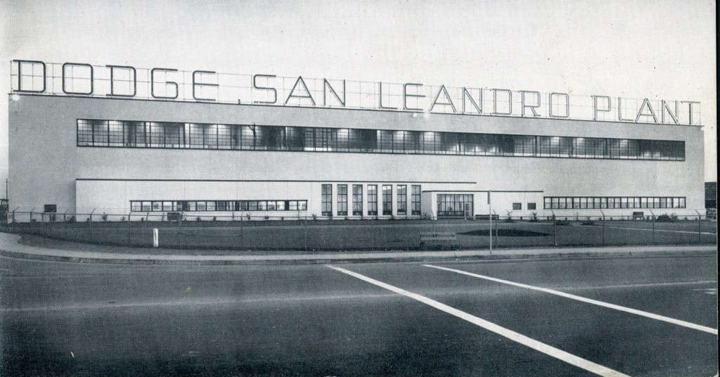 Dodge San Leandro auto manufacturing plant