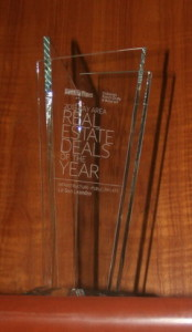 Award for Real Estate Deal of the Year