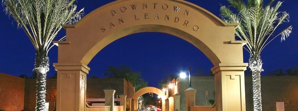 Downtown San Leandro Arch